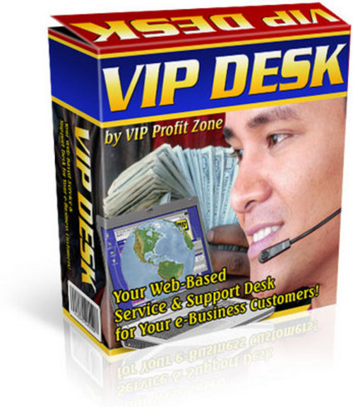 Pay for *NEW* VIP Desk Script - Recommended To All Websites 2011