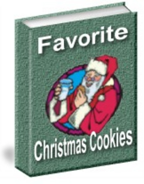 Pay for *New* Favorite Christmas Cookies With Resale Rights 2011
