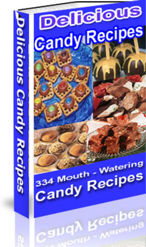 Pay for *NEW* Delicious Candy Recipes With Master Resale 2011