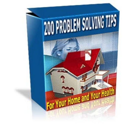 Pay for *NEW* Problem Solving Tips For Home And Health 2011