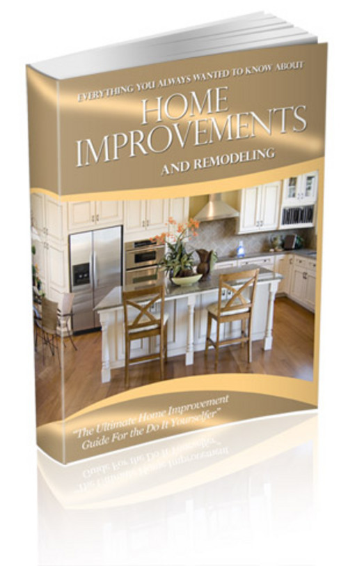 Pay for *NEW* Home Improvement 130 articles Plr. 2011