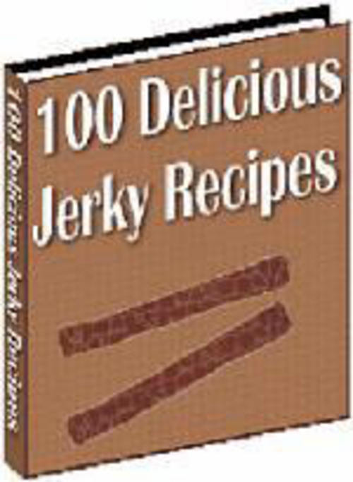 Pay for *NEW* 100 Delicious Jerky Recipes 2011