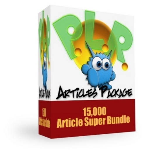 Pay for *NEW* 15,000 Article Super Bundle  2011