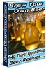 Thumbnail *New* Beer Brewing Recipes with MRR 2011