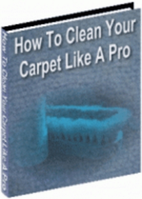 how to clean new carpet
