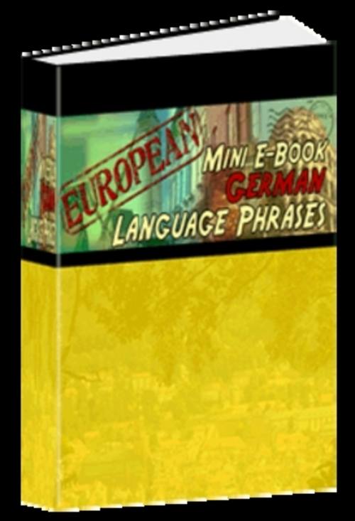 Pay for *New* German Phrase Mini-Ebook - Download eBooks 2011