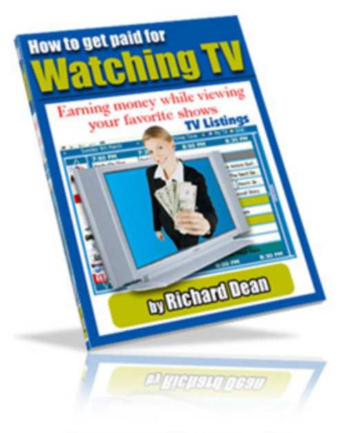 Pay for *New* How to Get Paid For Watching TV With PLR MRR 2011