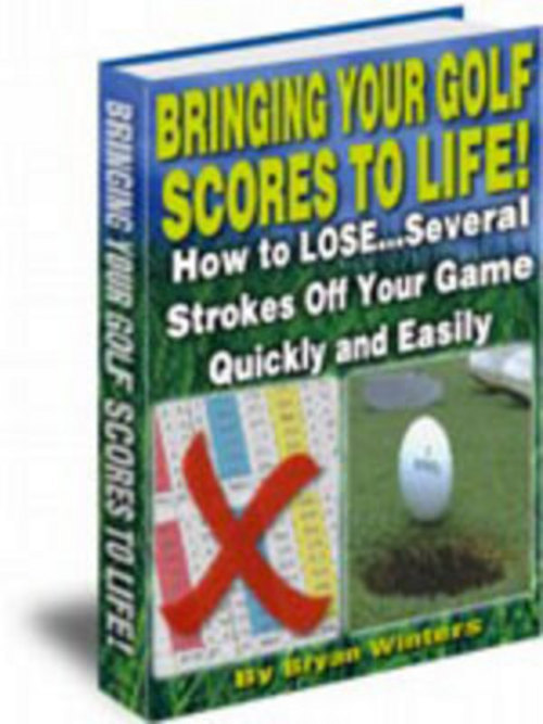 Pay for *New*Bring Your Golf Score To Life With Master Resalel  2011