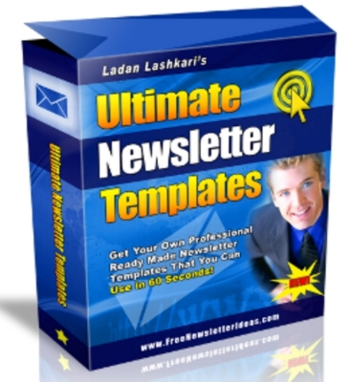 Pay for *New* Ultimate Newsletter Templates with MRR 2011