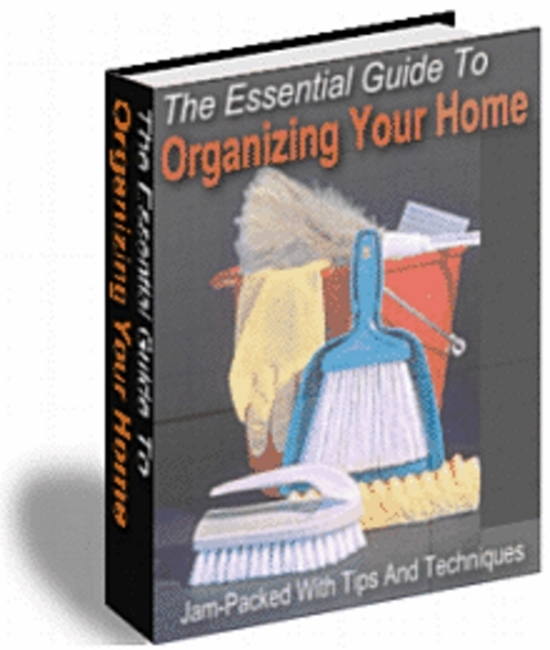 Pay for *New* Organizing Your Home 2011