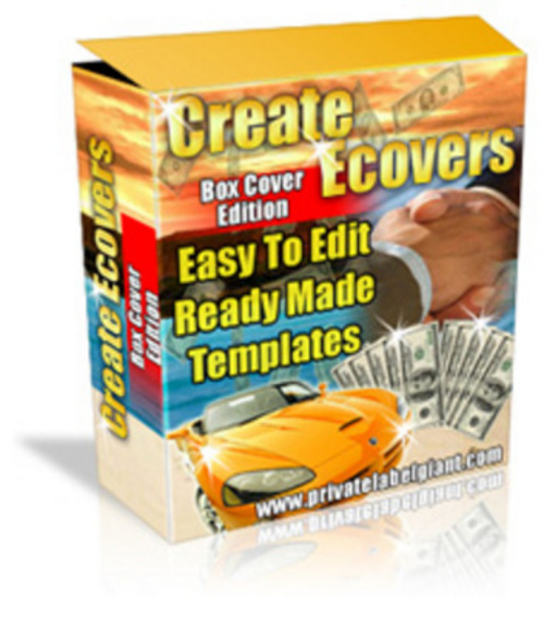Pay for *New* Software Box Ecover Creator (MRR) 2011