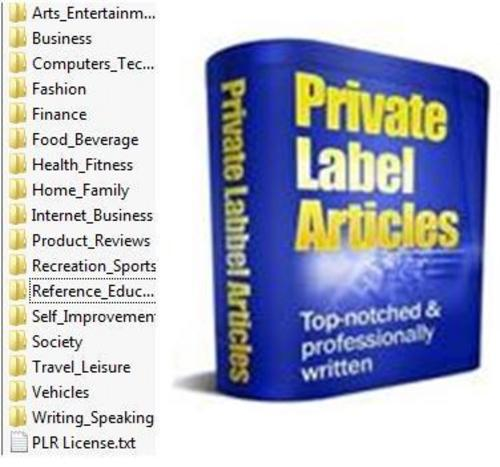 Pay for 100000  Private Label Articles Pack