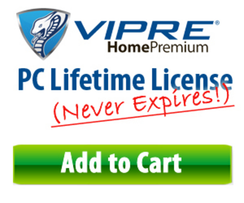 Pay for Vipre Antivirus Software Lifetime License