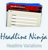 Thumbnail Headline Ninja