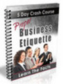 Thumbnail Proper Business Etiquette