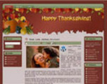 Thumbnail Thanksgiving WordPress Theme