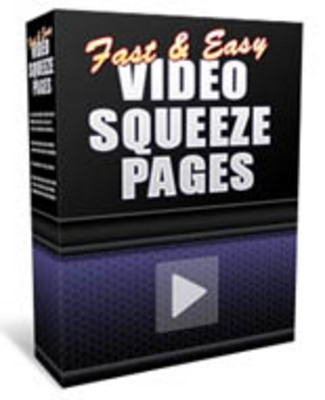 Pay for Fast and Easy Video Squeeze Pages