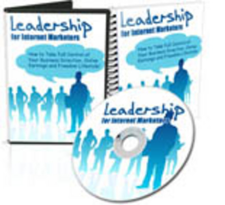 Pay for Leadership for Internet Marketers