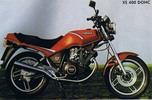 Thumbnail 1982 Yamaha XS400 Workshop Repair Service Manual in ENGLISH/ GERMAN/ SPANISH