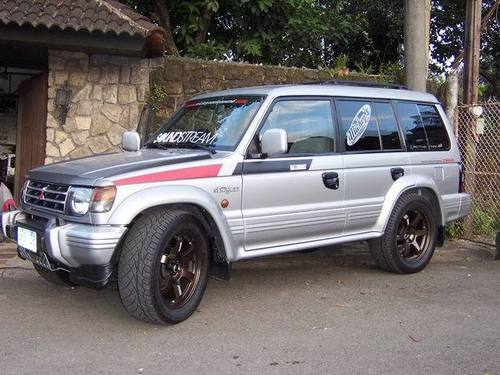 1991-1999 Mitsubishi Pajero  Montero  Workshop Repair Service Manual