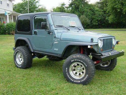 1998 Jeep Wrangler Tj Workshop Repair Service Manual Best
