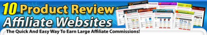 Thumbnail 10 Affiliate Review Websites with MRR*HOT*