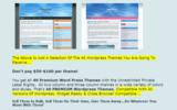 Thumbnail 40 Wordpress Thems *Unrestrected PLR*