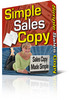 Thumbnail Simple Sales Copy with Resel rights