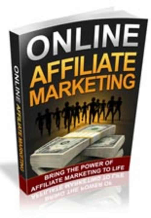 Pay for Online Affiliate Marketing