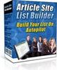 Thumbnail Article Site List Builder - MRRGA