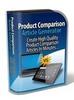 Thumbnail Product Comparison Articles Generator