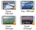 Thumbnail Aerial Stock Video in 4K UHD vol 3