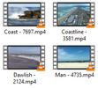 Thumbnail Beach Stock Video Footage in 4K UHD, vol 1