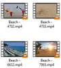 Thumbnail Beach Stock Video Footage in 4K UHD, vol 2