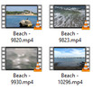 Thumbnail Beach Stock Video Footage in 4K UHD, vol 3