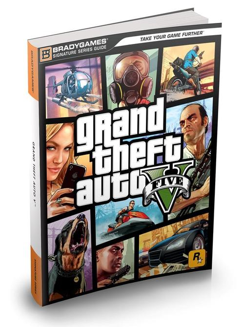 Pay for Grand theft Auto V (5) Complete official walkthrough guide