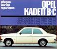 Thumbnail Reparatur , Workbook , Opel Kadett