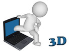 Thumbnail Asombrosos gráficos 3D útiles para sitios web, ebooks, video