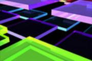 Thumbnail Multicolored Acrylic Tiles (Animación de Video)