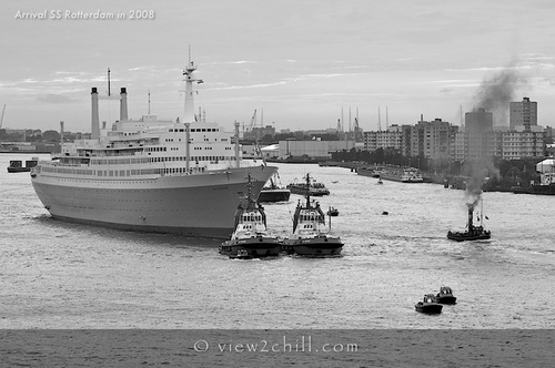 Pay for SS Rotterdam Arrival in Rotterdam (2008)