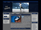 Thumbnail Ice Skating   WP Theme with MRR