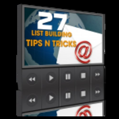 Pay for 27 List Building Tips N Tricks