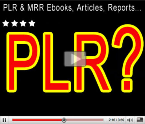 Pay for Newly Revised & Organized PLR Private Label Rights Package