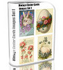 Thumbnail Vintage Easter Cards Images Set1 1,000