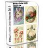 Thumbnail Vintage Easter Cards Images Set1 1,000