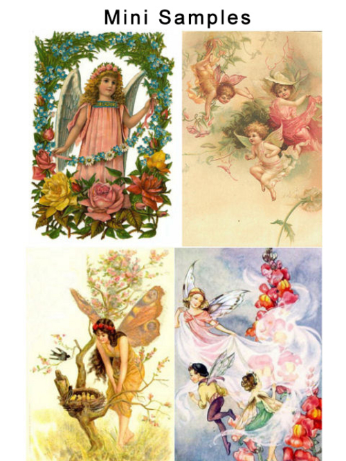 Pay for Vintage Fairies And Angels