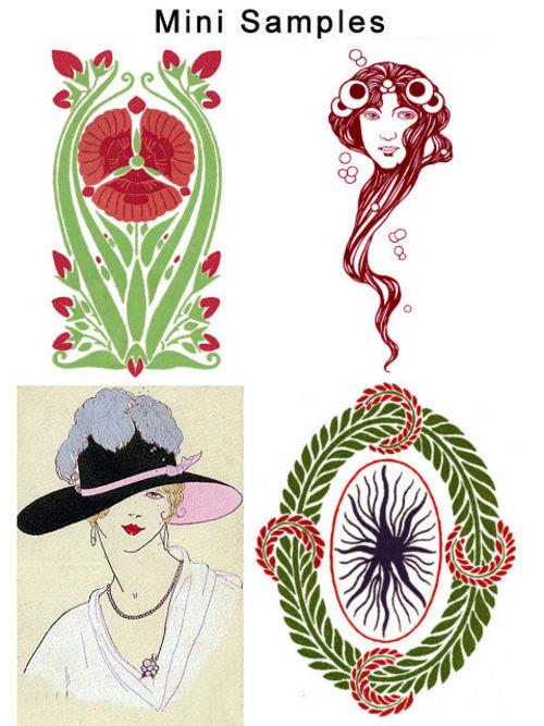 Pay for Vintage Art Deco & Nouveau Images