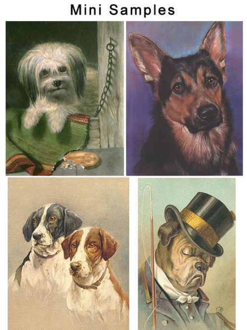 Pay for Vintage Dogs And Breeds Images