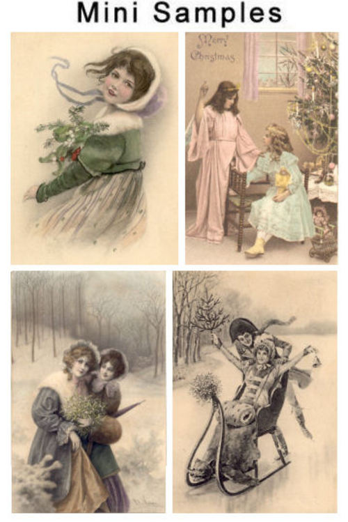 Pay for Vintage Christmas Photo Images Over 1,000