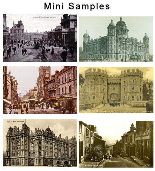 Pay for Vintage UK Postcard Images 1,500+